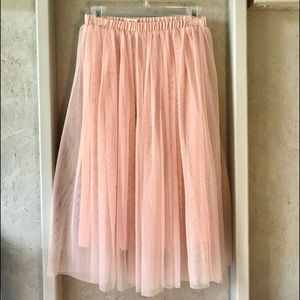 This Sweet Tulle Skirt is so cute and fun!